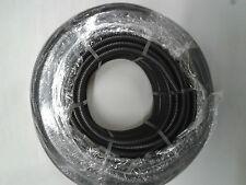 32 mm x 25m flessibile Nero Tubo protettivo condotte TUBO PVC tubo flessibile, BOBINA NERO