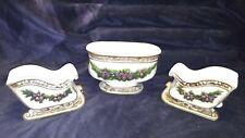 3 Piece Porcelain Napco Plant Holders!