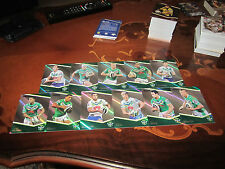 2014 NRL TRADERS CANBERRA RAIDERS PARALLEL TEAM SET 11 CARDS CAMPESE