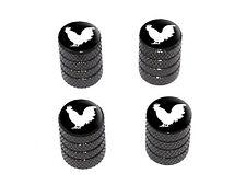 Rooster - Cock - Tire Rim Wheel Valve Stem Caps - Black