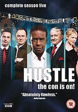 Hustle - Series 5 (DVD, 2010, 2-Disc Set) FREE POST IN UK