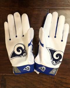 Nike Men's Los Angeles Rams Football Gloves Sz. XL NEW #12