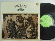 CROW: MOSAIC / Original 1st Edition on Green Amaret Label ST 5009 / Early Psych