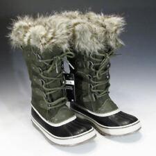 Sorel Joan of Arctic Winter Snow Boots (Nori / Dark Stone, US Women's Size 6)