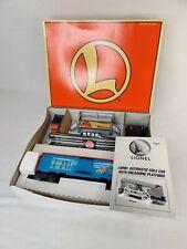 LIONEL O SCALE #6-16777 LIONEL COLA ANIMATED CAR & PLATFORM NEW IN ORIGINAL BOX
