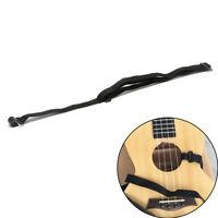 1 Pcs Adjustable Ukulele Strap Guitar Instrument Hook Black Guitar Accessorie~J#
