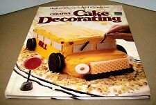 Books, Better Homes and Gardens, Creative Cake Decorating Cookbook, Recipes