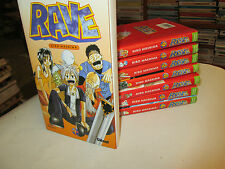 lot mangas .   RAVE ..8 vol ...TBE