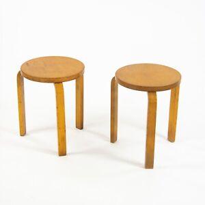 1940's Alvar Aalto No. 60 Side End Table Stoo Artek Finmar Finsven Knoll Finland