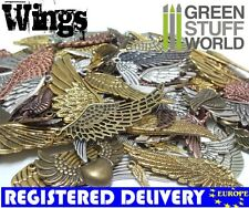 Steampunk WING Set 85 gr - WINGS Mix - Jewelery Wing Beads, Charm and Pendant