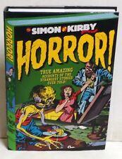 Horror! by Joe Simon and Jack 1st Printing Hardcover/DJ