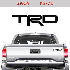 Toyota TRD Truck Off Road Racing Decals Tacoma Tundra Pair Vinyl Sticker decal -