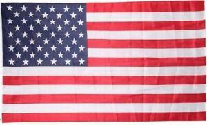 Drapeau USA Étendard Etats Unis Drapeau Américain 150 X 90 avec oeuillets