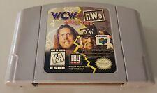 N) WCW vs. NWO World Tour (Nintendo 64, 1997) Video Game Cartridge Wrestling WWE