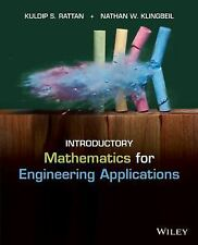 Introductory Mathematics for Engineering Applications 1st Int'l Edition