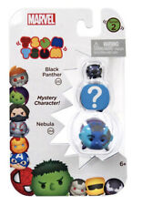 Tsum Tsum Marvel 3 Pack Series 2 Black Panther, Mystery & Nebula