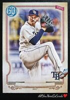 Blake Snell 2020 Topps Gypsy Queen Missing Nameplate Variation Baseball Card #41