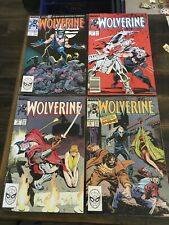 Wolverine #1 2 3 4 (1988) Vol 2 Marvel High Grade Lot Set Run X-Men 1st Ongoing
