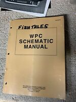 WPC SCHEMATIC  16-9473  WILLIAMS ORIGINAL PINBALL OWNERS  MANUAL