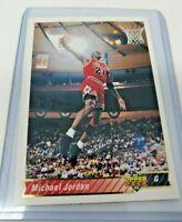 Michael Jordan 92 93 Upper Deck Basketball Card Chicago Bulls #23
