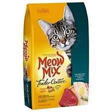 Kitten Cats Dry Food - Meow Mix Cat Tender Centers Tuna & Whitefish For All Ages