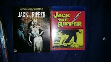 Jack The Ripper Slipcover Blu Ray and Bonus DVD OOP Mint Brand New Severin