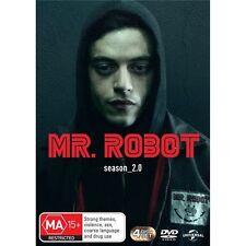 MR. ROBOT-Season 2-Region 4-New AND Sealed-2 DVD Set-TV Series