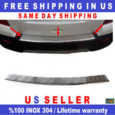 Stainless Steel Outer Rear Bumper Sill Protector Cover For BUICK ENCORE 2017-18