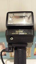Sunpak 555 Auto Thyristor Handle-Mount Flash