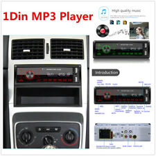Single DIN Touch Keys Car Stereo MP3 Player Bluetooth AUX USB TF FM Head Unit