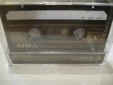 AIWA C-60LX BLANK Audio TAPE/Cassete SEALED