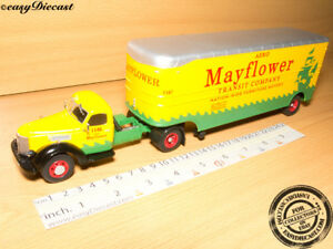 INTERNATIONAL HARVESTER K-7 1:43 CAMION TRUCK & TRAILER ALTAYA IXO SEMI REMORQUE