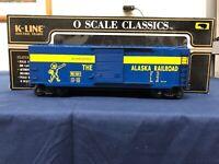 K-line Alaska O Scale Classic Boxcar K761-1011
