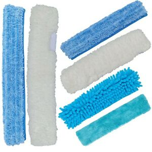 """IGADPole Microfiber cloth refill for 10""""(25cm) and 14""""(35cm) Squeegees"""