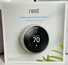 Nest T3007ES  3rd Generation Stainless Steel Thermostat