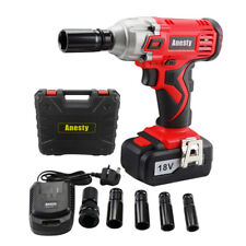 Cordless Impact Wrench 3 0a Li Ion 1 2 Drive Ratchet Rattle