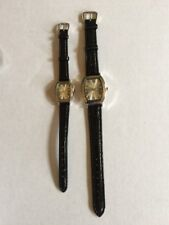 His and Hers Quartz Watches Vintage
