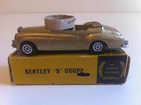 Nicky Toys (Dinky India) - 194 - Bentley S Coupé en boîte d'origine