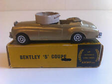Nicky Toys (Dinky India) - 194 - Bentley S Coupé nella casella d'origine