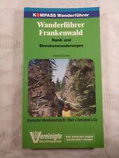 Wanderführer Frankenwald Rund- und Streckenwanderungen, Heribert Schiller, 1985