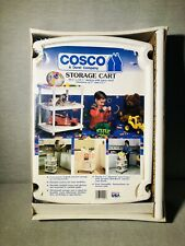Cosco 3 Tier Vintage Rolling Cart (White New In Box)