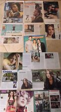 JENNIFER LAWRENCE Magazine & newspaper CLIPPINGS ** HUNGER GAMES
