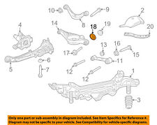 FORD OEM Rear Suspension-Lower Control Arm Plate 6M8Z6269A