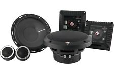 "ROCKFORD FOSGATE T1650-S 6.5"" POWER  2-WAY CAR COMPONENT SYSTEM SPEAKERS"