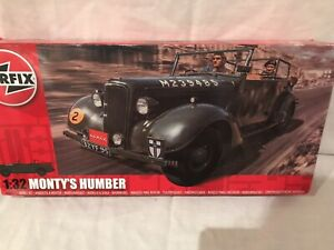 Airfix Car 1/32 Scale Model Kit - MONTYS HUMBER  - GENERAL MONTGOMERY