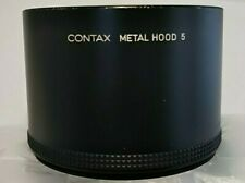 Genuine Contax Metal Hood 5 Lens Shade Excellent+++condition from Japan
