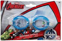 Avengers Marvel Boys Swimming Goggles Kids Summer Lesson Beach Pool Play Fun 3+