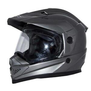 Zox Rush SFX Dual Sport Adventure Helmet Titanium XS