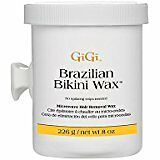 Gigi Brazilian Bikini Wax Microwave Formula, 8 Ounce For Home And Salon Use by G