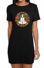 Chakra Petal Mandala Yoga Meditation Womens T-Shirt Dress
